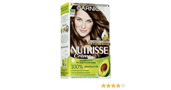 Garnier Nutrisse Creme Coloration Mocca Hellbraun 50 permanente ...