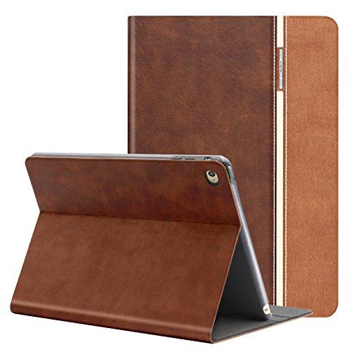 auaua iPad Mini 4 Hülle, iPad Mini 4 Hülle PU Leder Tasche Schutzhülle mit Auto aufwachen/Schlaf Funktion + Clear Schutzfolie (Gift) für Apple iPad Mini 4 Hülle Zoll Apple Tablet