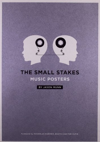 Small Stakes: Music Posters por Jason Munn