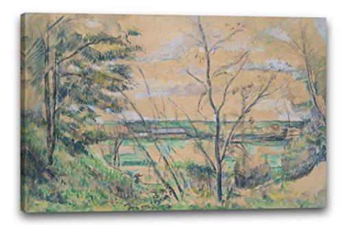 Printed Paintings Leinwand (80x60cm): Paul Cézanne - Im Oise-Tal -