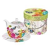 Die besten Paperproducts Design-Teekannen - PPD Love Letter Tea-for-One-Set, Tee Kanne, Tasse in Bewertungen