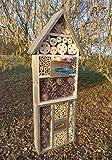 Black insetti Hotel con abbeveratoio SDV Host-OS e mangiatoia, Mangiatoia, misura grande 50cm Nero piccolo voliera paridae casetta per uccelli Mangiatoia per uccelli Mangiatoia per uccelli come complemento per cince cassetta nido artificiale canederli o per casetta per uccelli casette–insetti alberghi, insetti, casa di casa di coccinella coccinella–Coccinella da balcone per farfalla farfalle, decorazioni giardino