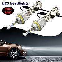sweon 80W 8000LM CREE 9004fascio basso Kit Fari a LED lampadine 6000K led bianco ad alta potenza lampada H1H3H4H7H11H139007900590069012