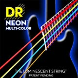 Dr Strings nmcb-40 DR Neon 4 Bass Gitarre Saite, Light, bunt