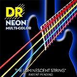 Dr Strings nmcb-40DR Neon 4Bass Gitarre Saite, Light, bunt
