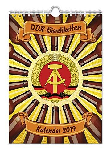 DDR-Bieretiketten Kalender 2019: Historische Bieretiketten aus der DDR