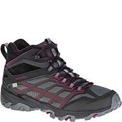 Merrell Womens Moab FST Ice Plus Thermo Walking Shoes Black 8 B(M) US