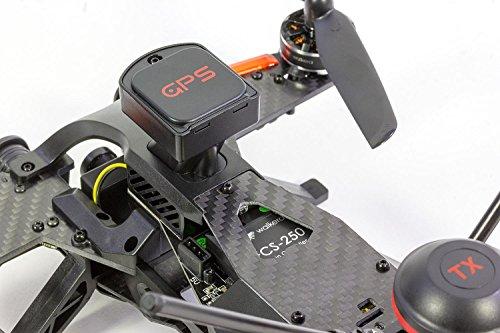 Walkera 15004600 - Runner 250 Pro Racing-Quadrocopter RTF - FPV-Drohne mit HD Kamera, GPS, OSD, Akku, Ladegerät und Devo 7 Fernsteuerung - 4