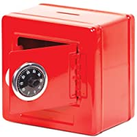 Combination Money-Box Safe (Black or Red)