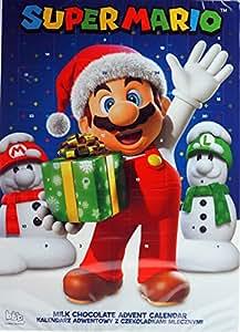 Super Mario Weihnachten Schokolade Adventskalender
