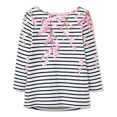 Joules Harbourprint Jersey Top, Hazblro