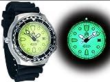 "Profi Taucher Uhr ""Automatik Werk"" Saphir Glas – Helium Ventil T229 - 2"