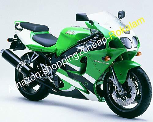 Hot Sales, Vert Corps noir pièces de rechange pour Kawasaki Ninja Zx-7r 96-03 ZX 7R Zx7r 1996 97 98 99 00 01 02 2003 Moto Carénage kit de rechange