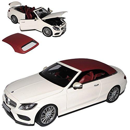 Kyosho Mercedes-Benz C-Klasse Cabrio A205 Weiss Ab gebraucht kaufen  Wird an jeden Ort in Deutschland