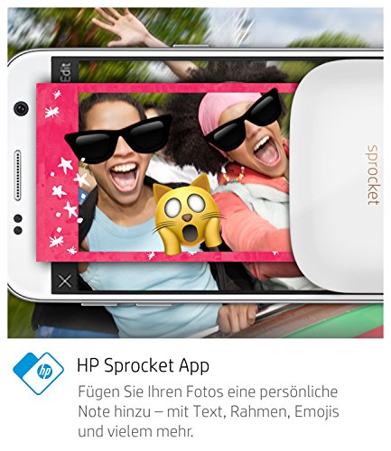 HP Sprocket Fotodrucker - 5