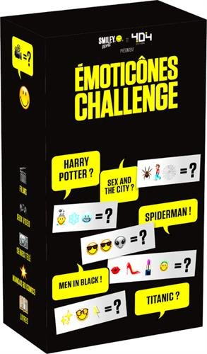 Emoticônes Challenge par Julien TELLOUCK