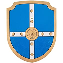 Buiten BB36195 - Escudo, de Madera, DE 34 cm