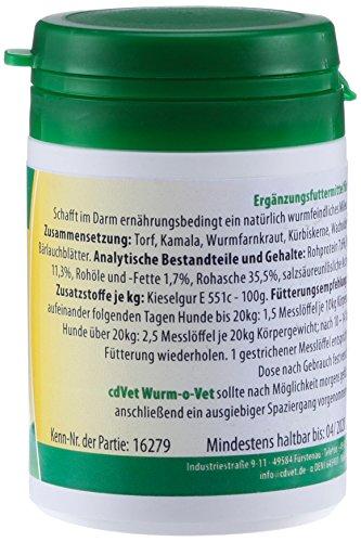 cdVet Naturprodukte Wurm-o-Vet Hund 25g -