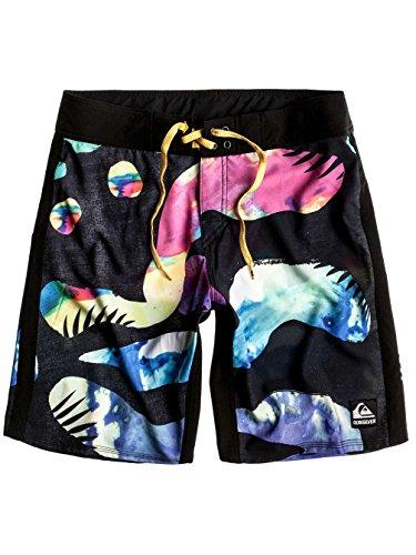 Herren Boardshorts Quiksilver Island Heart 20 Boardshorts Black