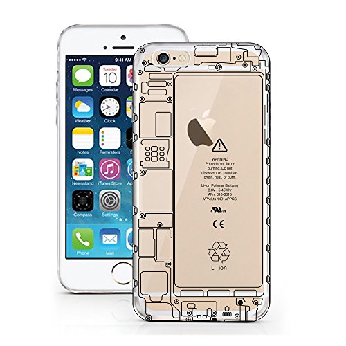 iPhone 5 5S SE Hülle von licaso® für das Apple iPhone 5S aus TPU Silikon Who's your Daddy Star Wars Darth Vader Muster ultra-dünn schützt Dein iPhone 5SE & ist stylisch Schutzhülle Bumper in einem (iP Technik