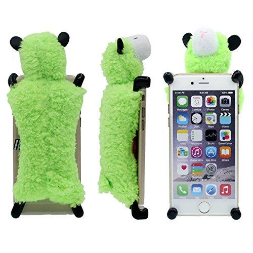 Schutzhülle für iPhone 6S Plus Hülle, interessant Neuer Entwurf Weich Cutton Schaf Puppe Serie Verschiedene Farbe Handyhülle Case für Apple iPhone 6 Plus / 6S Plus 5.5 inch Grün