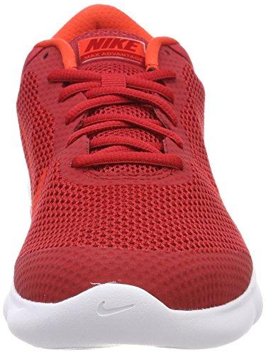 Avantage Nike Air Max, Scarpe Da Running Uomo Rosso (gym Rouge / Rouge Habanero / Team Red / 601)