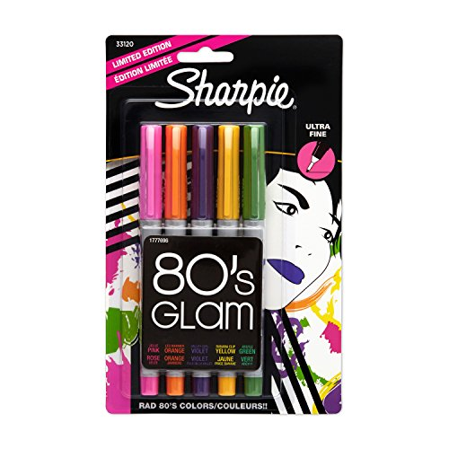 sanford-ink-sharpie-ultra-fine-point-limited-ed-permanent-markers-80s-glam