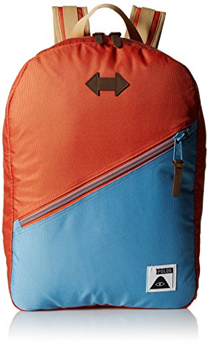 Drifter Poler Stuff Bag, Burnt Orange/True Blue, 50 x 40 x 6 cm, 18 litri, POLBAG_DRI Arancione - Burnt Orange/True Blue