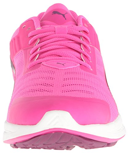 Puma Ignite V2 Synthétique Chaussure de Course Pink Glo-Magenta Purple