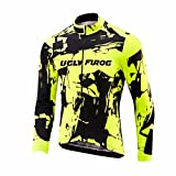Uglyfrog Fahrradbekleidung Damen Manga Larga Radsport Trikots Sport Freizeit Frühjahr Style Full Zipper Sport MTB Straßenberg Outdoor Reiten Jersey Fahrrad Jacke