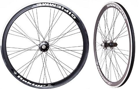 Racing Road Bike Wheelset Raktor (700C/29er Wheels) in Black Disc 7 8 9 10 Speed