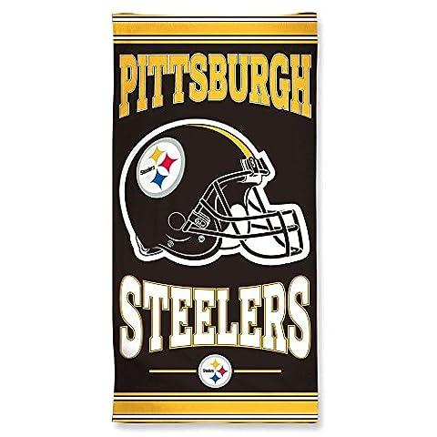 NFL Strandtuch 150x75 cm Pittsburgh Steelers