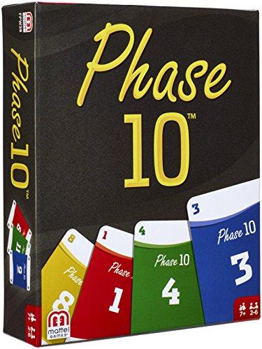 Mattel Spiele FPW38 Phase 10 Kartenspiel von Mattel GmbH
