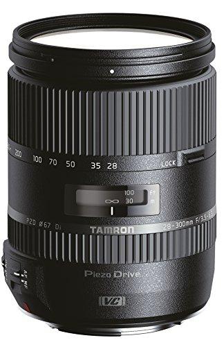 Tamron 28-300 mm F/3.5-6.3 Di VC PZD Objektiv für Canon Bajonettanschluss (A010E) (Kamera-objektive Von Tamron)
