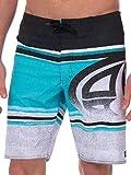 Bañador / Bermuda Playa Modelo Tegu empaquetable hombre caballero (L- cintura 86cm/Multicolor)