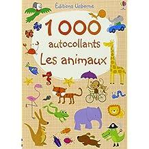 Les animaux 1000 autocollants