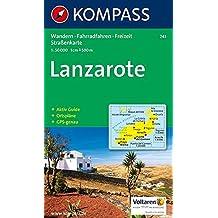 Kompass Karten, Lanzarote (KOMPASS-Wanderkarten, Band 241)