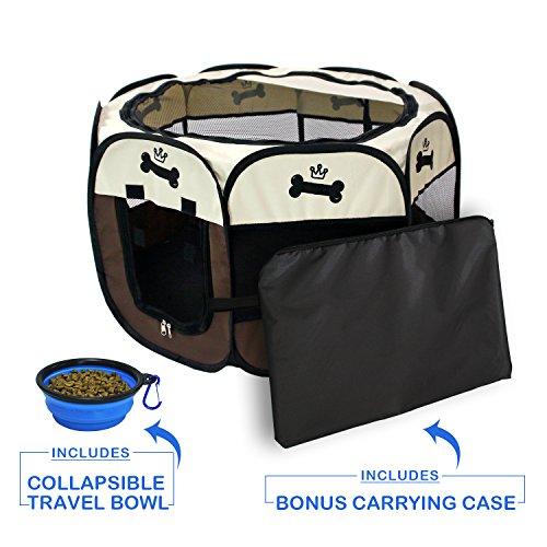 YOOBE Pet Portable Plegable Plegable Valla Transporte