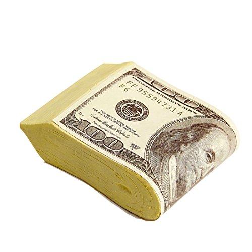Fake Geldbündel Bankräuber Bund Geldscheine Casino Dollar Scheine Bündel Dollarscheine Karnevalskostüme Zubehör Mottoparty Banknoten Poker Party (Bankräuber Kostüme)