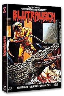 Blutrausch - Eaten Alive (1977) UNCUT 2-Disc Mediabook (Cover A) - limitiert & nummeriert auf 666 Stk. [Blu-ray]