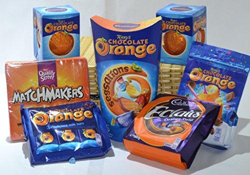 Chocolate Hamper / Gift Box. The Chocolate Orange Bonanza.
