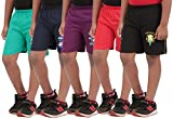 #5: Provalley Pack of 5 Printed Shorts For Boys
