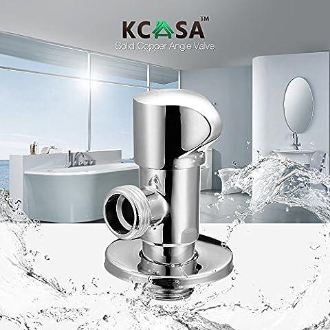 Paleo KCASA™ trampa nocaut agua accesorios de desvío agua del baño cocina válvula de ángulo de dos vías del interruptor de