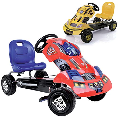 Hauck T90401 - Transformers Go-Kart Optimus Prime, blau/rot