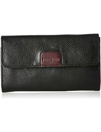 Hidesign Women's Wallet (Black Aub)