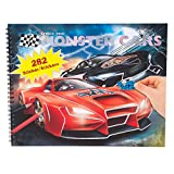 Monster Cars 6312.001 - Create Your - Malbuch mit vielen Stickern