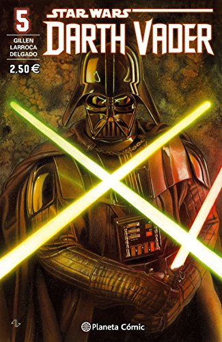 Star Wars Darth Vader nº 05/25 (Star Wars: Cómics Grapa Marvel) por Salvador Larroca