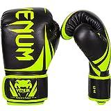 Venum Erwachsene Boxhandschuhe Challenger 2.0, Neon Gelb/Schwarz, 12oz, EU-2049