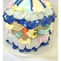 Carosello, carosello, fimo, fatto a mano/blu/figurina/bambino/orso/fantasia/attrazione/glitter/del capo/arancio/cinturino/idea regalo/bambino doccia/battesimo.