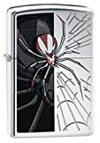 Zippo Briquet 60.000.267 Spider chromé...